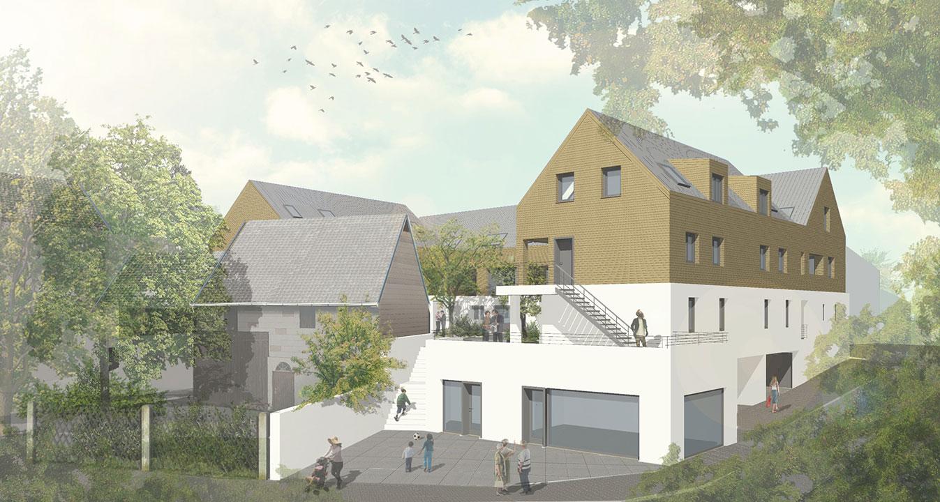 Wohnanlage Laufenselden / MJO Architekten